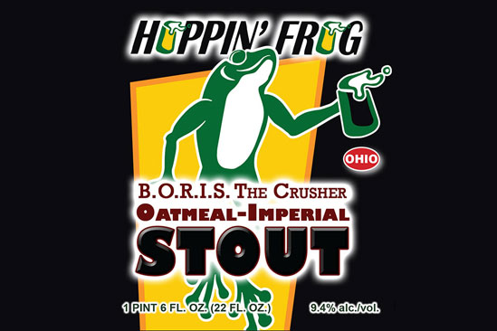 boris the crusher oatmeal imperial stout hawaii hoppin frog