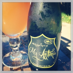 "Dogfish Head/Birra del Borgo  ""My Antonia"""
