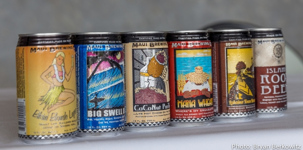 Maui Brewing Company Cans