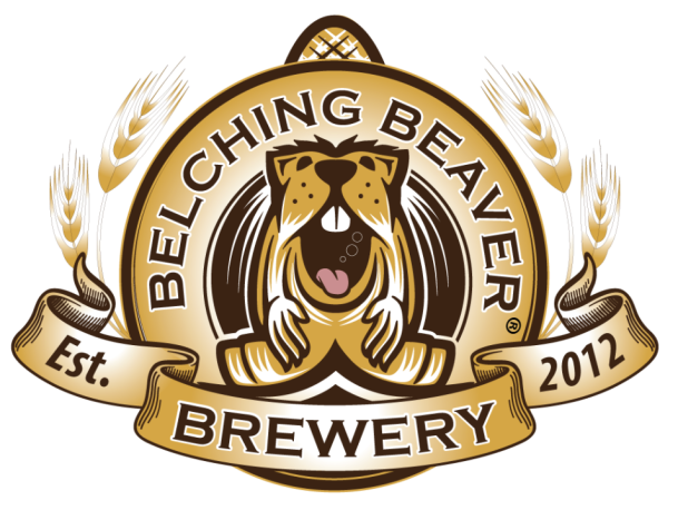 belching beaver brewery logo