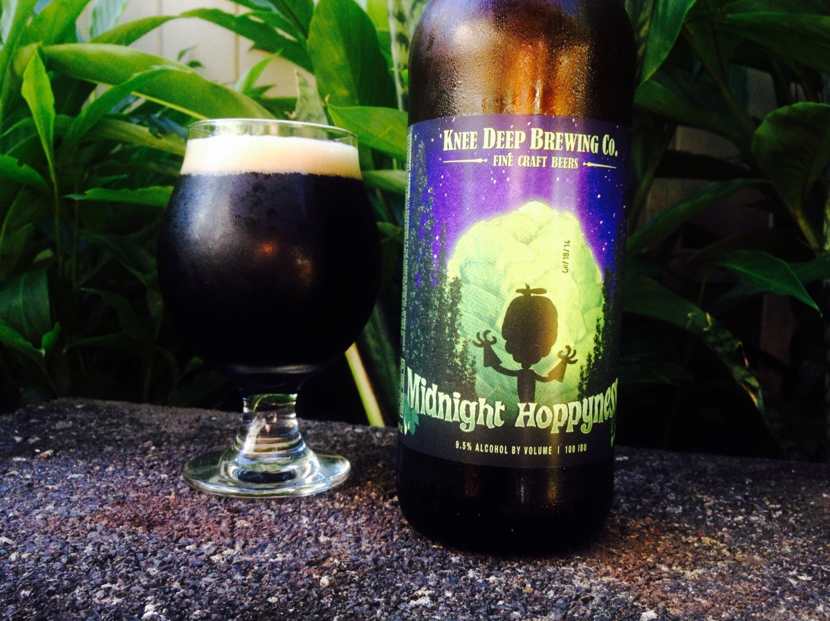 Try This Beer: Knee Deep Brewing Midnight Hoppyness