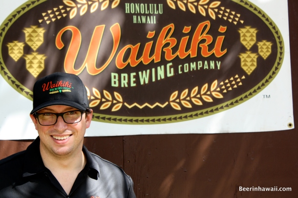 Waikiki Brewing Company Brewer Joe Lorenzen