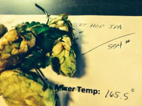 Wet Hop Recipe Sheet Honolulu Beerworks