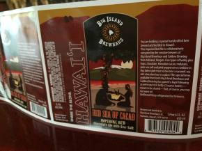Big Island Brewhaus To Debut Red Sea of Cacao In Bottles