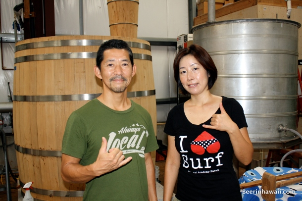 Hawaiian Shochu Company ken and yumiko Hirata