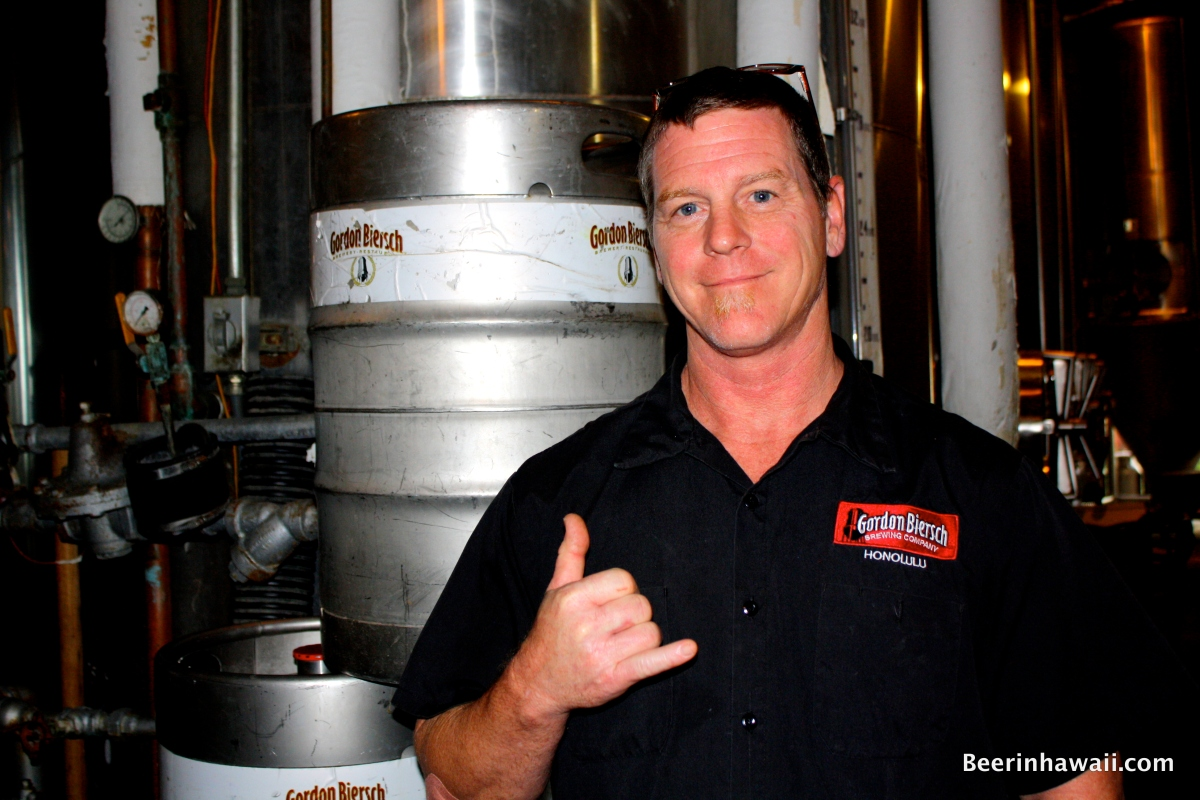Interview: Jeff Liles - Gordon Biersch Honolulu Brewmaster