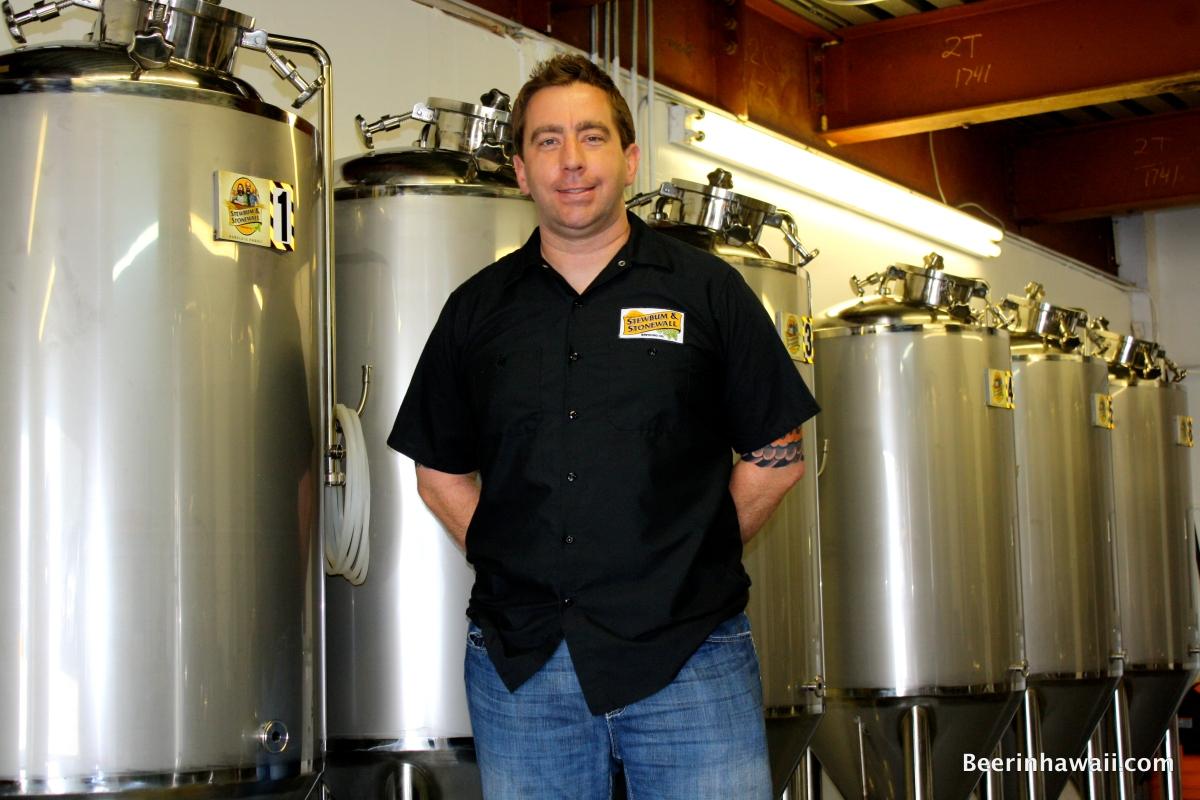 Stewbum & Stonewall Brewing Company Hawaii Darren Garvey