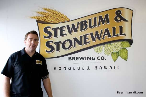 Darren Garvey Stewbum & Stonewall Brewing Company Hawaii