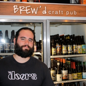 Interview: Adam Golish – Bar Manager at Brew'd Craft Pub