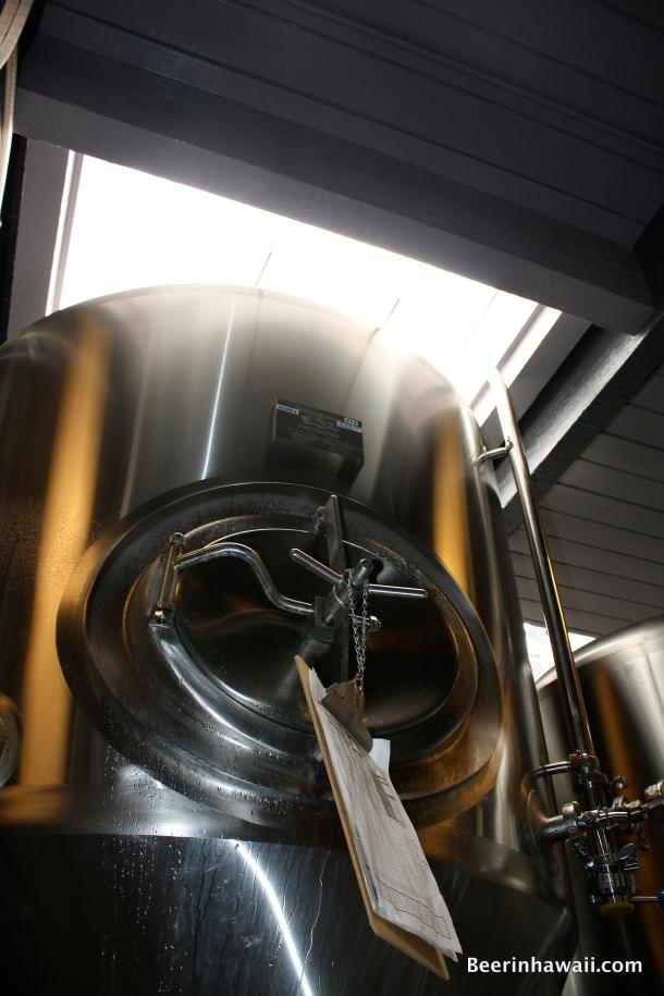Waikiki Brewing Company Fermentor