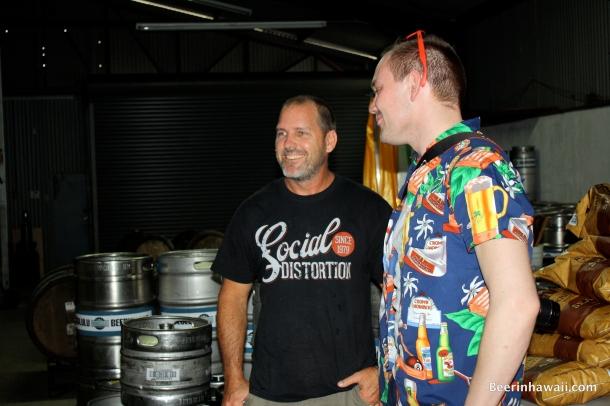 Dave Campbell Soren Parks Wagner Honolulu Beerworks