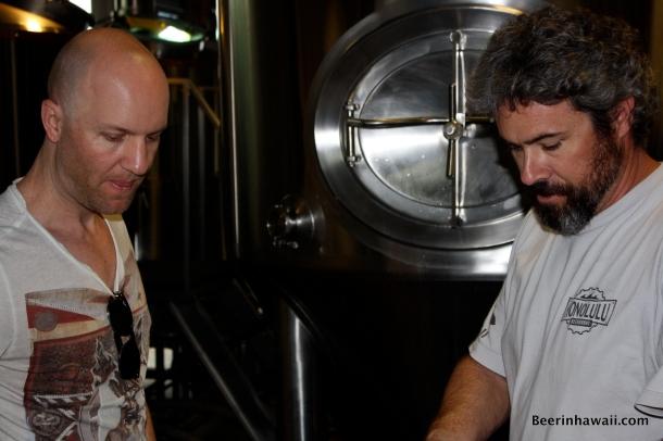 Brian Strumke Geoff Seideman Honolulu Beerworks