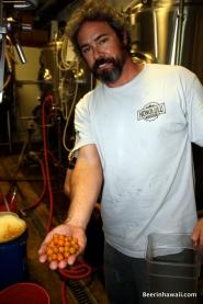 Geoff Seideman Honolulu Beerworks poha berries
