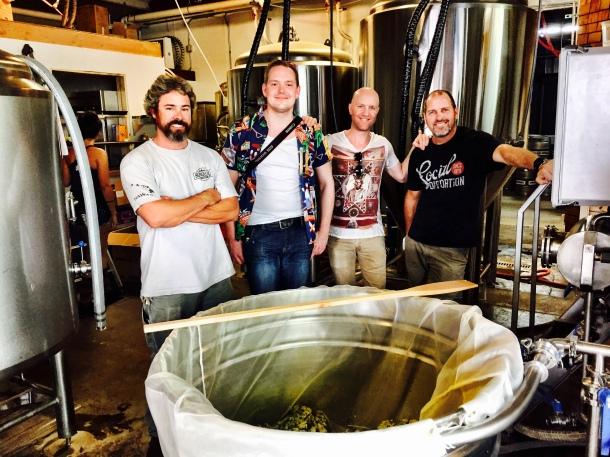 Honolulu Beerworks Stillwater Artisanal Collaboration