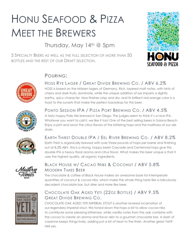 Meet the Brewers Night Honu