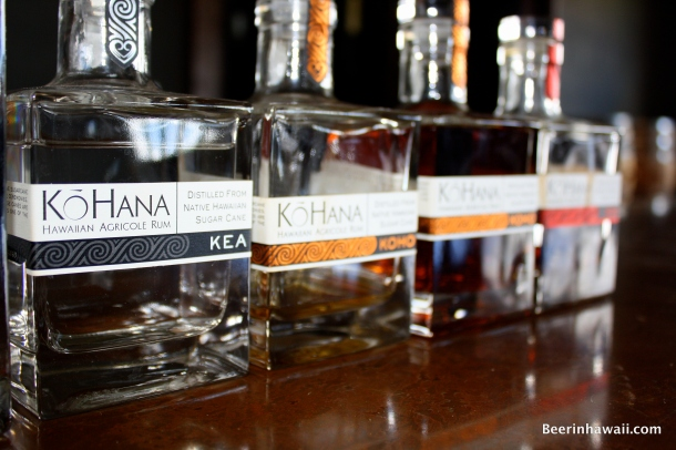 KoHana Rum Hawaii Kea Bottle