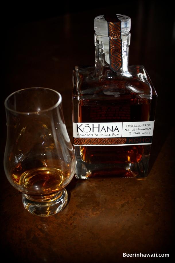 Ko Hana Rum tasting