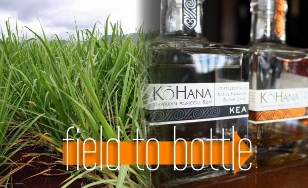 KoHana Rum Hawaii Farm to Bottle