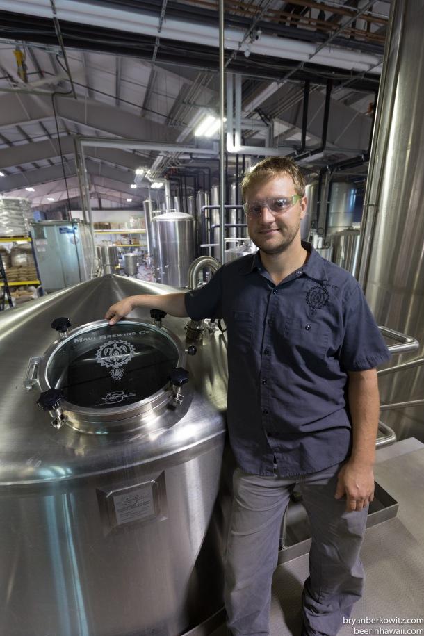 Darren Moser Maui Brewing Company Brewmaster