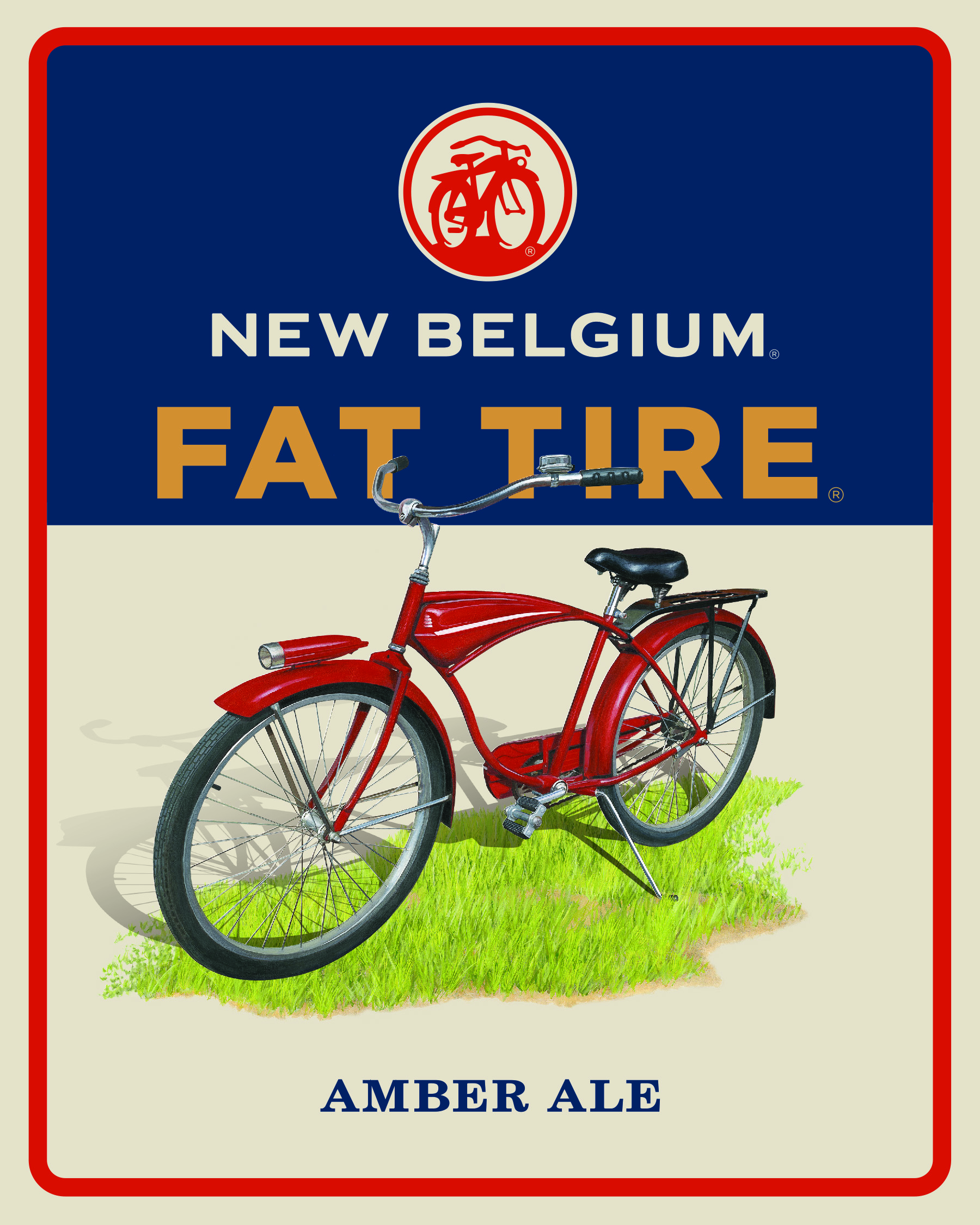 Fat Tire Beer Logo 4