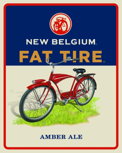 New Belgium Fat Tire Icon