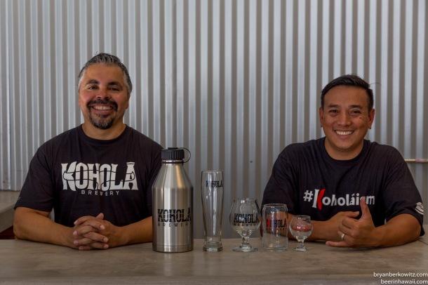 Kohola Brewery Maui Founders