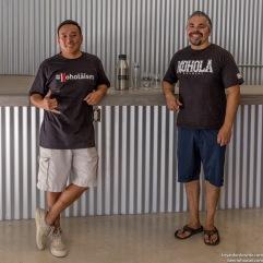 Kohola Brewery Maui Ian and William