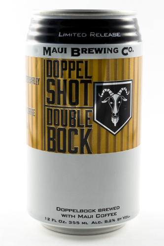 Maui Brewing Doppel Shot Double Bock Can