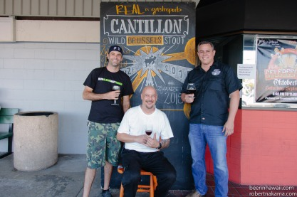 Zwanze Day 2015 Honolulu Real A Gastropub Timothy Golden Troy Terorotua Jason Hayes