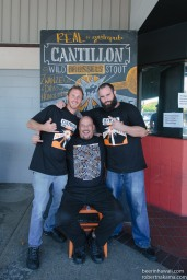 Zwanze Day 2015 Honolulu Real A Gastropub the throne