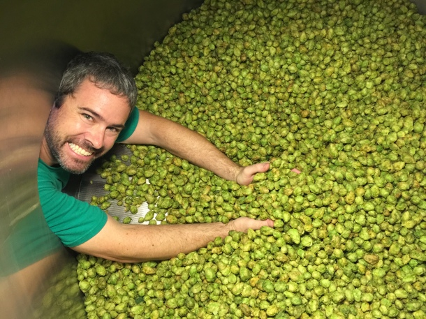 Honolulu Beerworks Geoff Seideman Fresh Hops