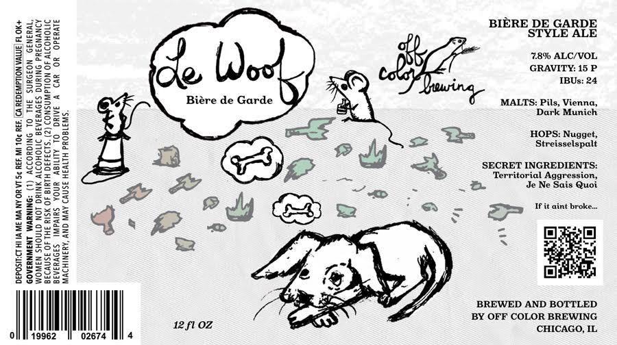 off color le woof biere de garde - Off Color Cartoons