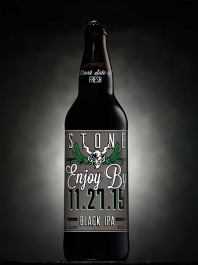 Stone Enjoy By 112715 Black IPA