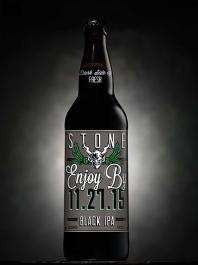 Stone Enjoy By 112715 Black IPA