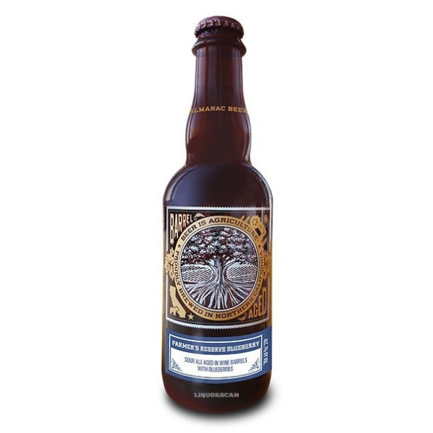Almanac Beer Farmer's Reserve Blueberry Hawaii