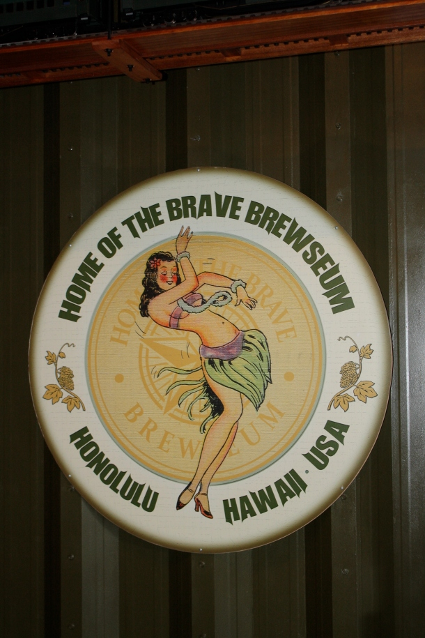 Home of The Brave Brewing Brewseum