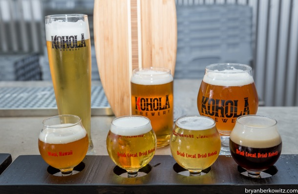 Kohola Brewing Beers