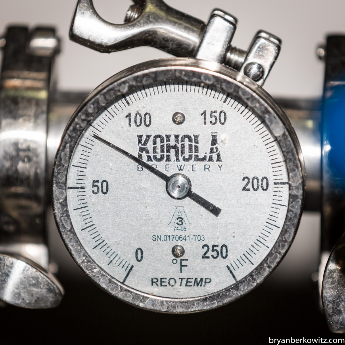 Kohola Brewing Temp Gauge