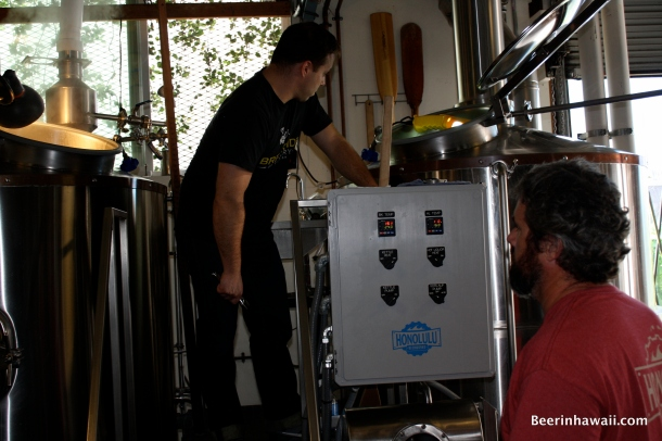 Breakside Brewery's Ben Edmunds at Honolulu Beerworks