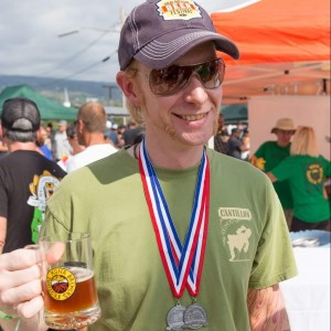 Dustin Hampton Certified Cicerone Hawaii