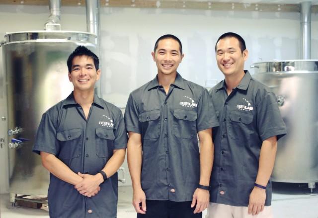 BeerLab Hi Derek Taguchi Kevin Teruya Nicolas Wong