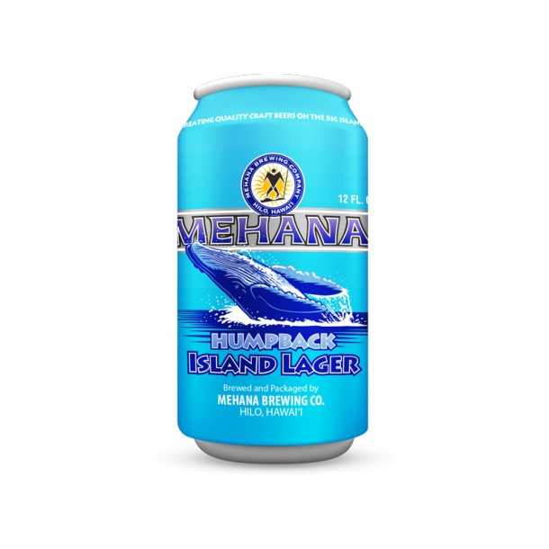 Mehana Brewing Humpback Island Lager