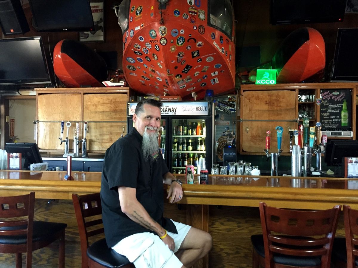 What I'm Drinking With Joseph Crockett - General Manager U.S. Coast Guard Hideaway Club