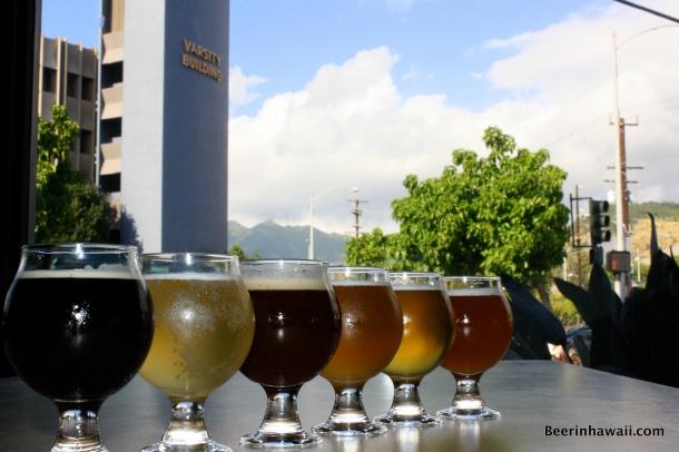 Beer Lab HI Beer Flight Varsity Building
