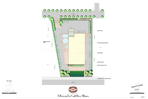 Kona Brewing Company New Brewery Site Plan