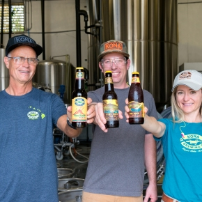 Three New Limited Releases from Kona BrewingCompany