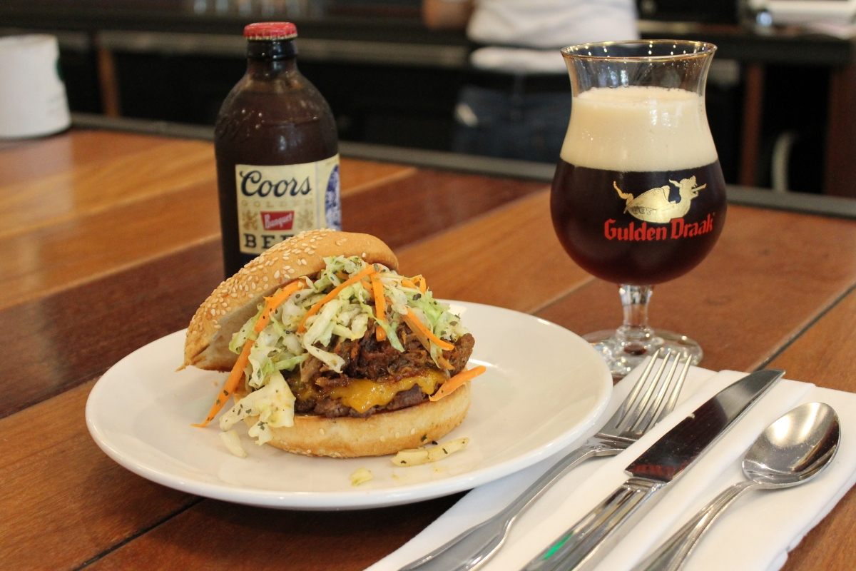 An Easy Guide to Pairing Beers and Burgers at Square Barrels