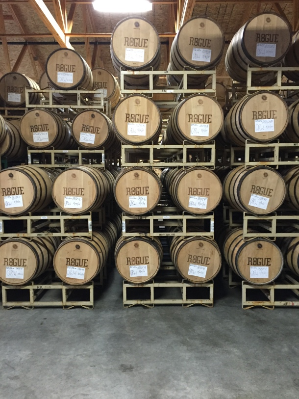 Rogue Brewery Cooperage Room