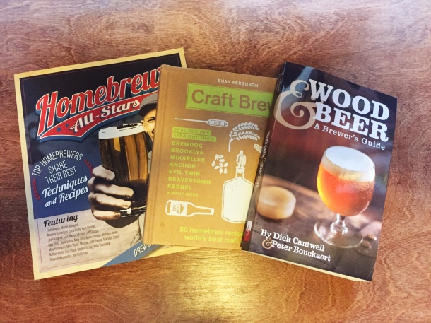 Wood & Beer, Homebrew All-stars, Craft Brew books