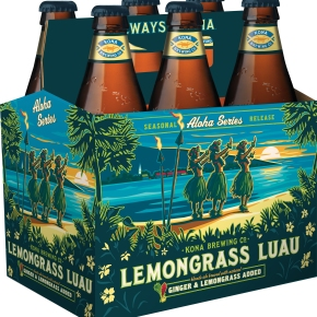 Kona Brewing Releases Lemongrass Luau Bottles